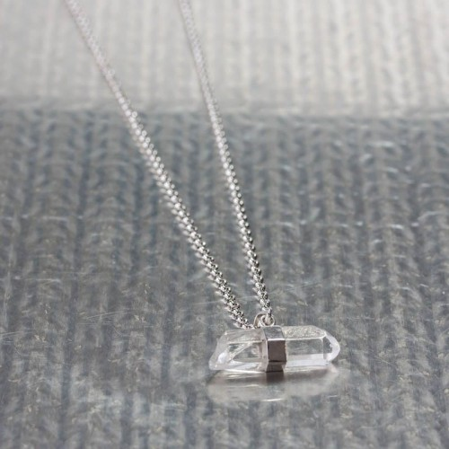 Collier Homme Cristal