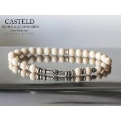 Bracelet Homme perles Racer