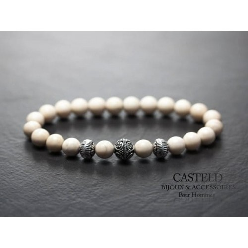 Bracelet Blanc Homme