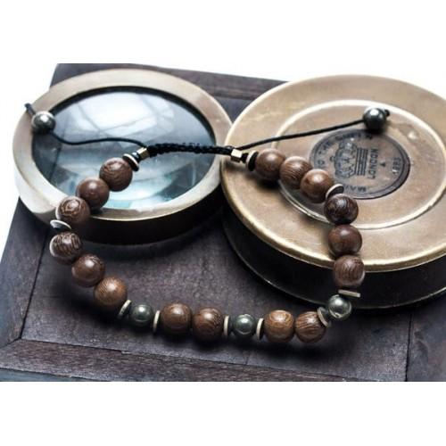 Bracelet Perle Bois