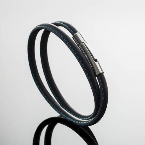 Bracelet Homme cuir Double