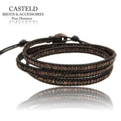 Bracelet Wrap Homme
