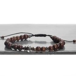 bracelet homme en bois