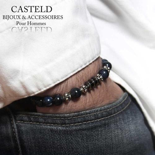 Bracelet Homme Cyan