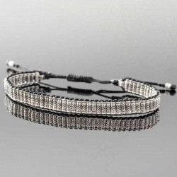 bracelet-homme-argent-tendance