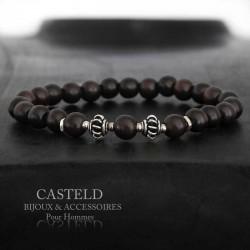 Bracelet pour homme en bois