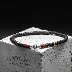 Bracelet pour homme tendance en perles