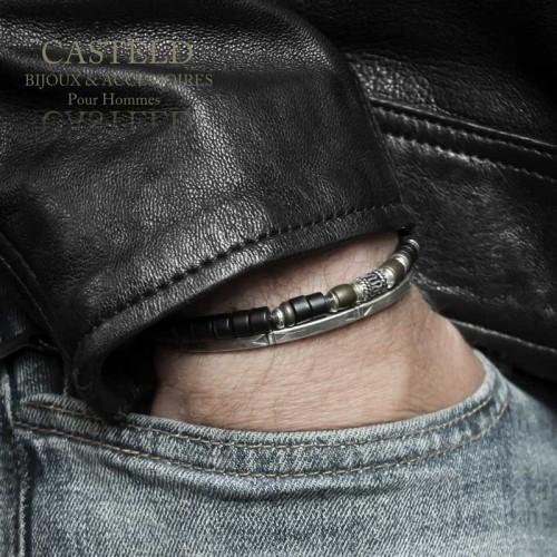 Bracelet homme Rouille