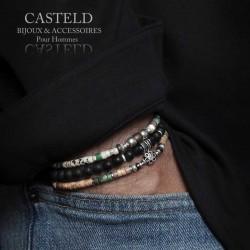 Un bracelet pour homme tendance et moderne de créateur