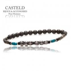 bracelet homme tendance en perles