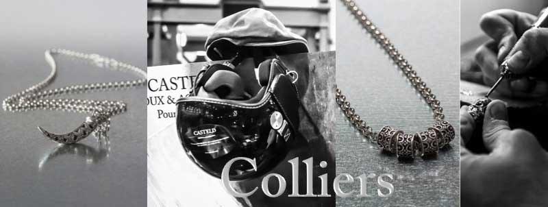 Colliers pour hommes luxe et tendance
