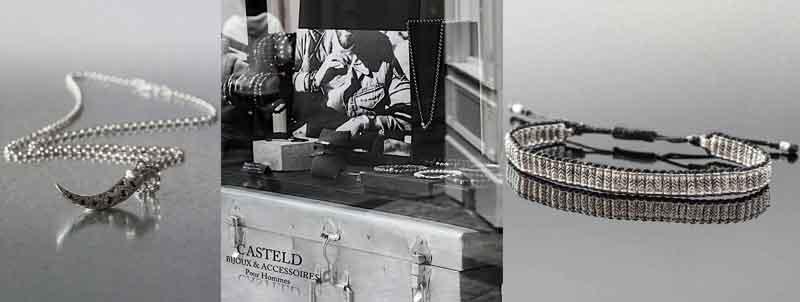 bracelet bijoux argent pour hommes