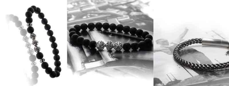 bracelets et bijoux pour hommes