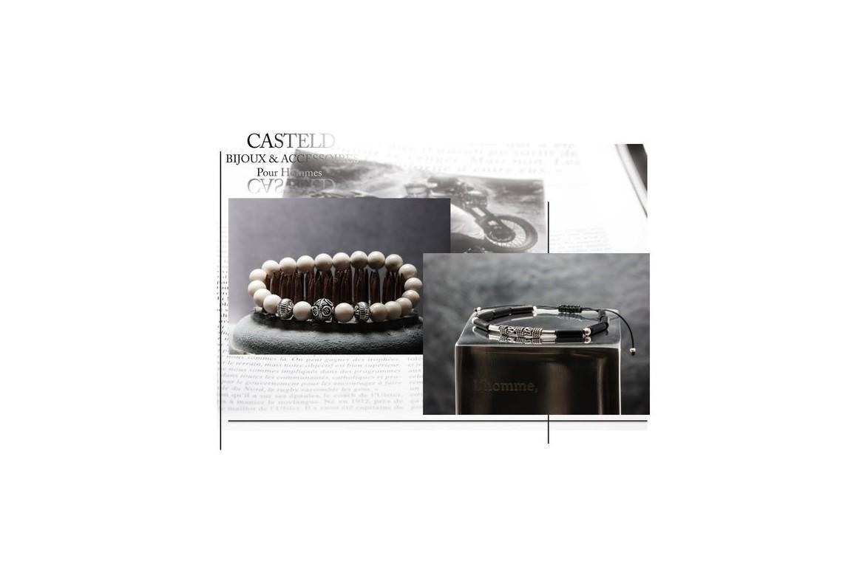 Bijoux pour hommes : bracelets masculins