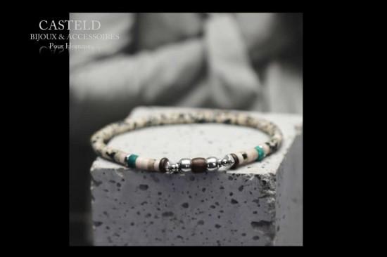 Un nouveau bracelet homme tendance